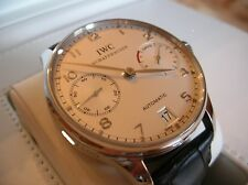 IWC Portuguese 7 Day Power Reserve Automatic Platinum Limited 500 Pcs IW500104