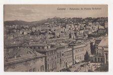 Italy, Genova, Panorama da Piazza De-ferrari Postcard, B252