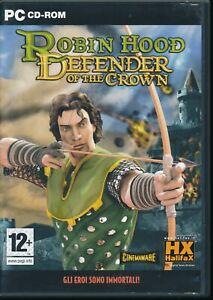 EBOND Robin Hood - Defender of The Crown - PC CD-ROM GC001006