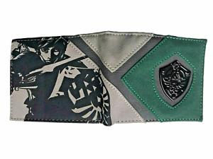 The Legend of Zelda Wallet Purse ID Mens Boys Gaming Hyrule Shield Link AUS