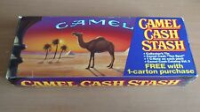 Vintage Camel Cigarette Cash Stash Tin with Original Box