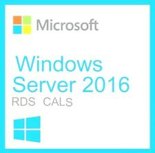 Windows Server 2016 RDS Remote Desktop Services 50 USER CAL