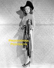 "GENE TIERNEY 8X10 Lab Photo 1941 ""SUNDOWN"" FASHION DIVA STRIKING BEAUTY PORTRAIT"