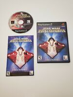 Star Wars: Jedi Starfighter (PS2, PlayStation 2) Disc Only, Tested!