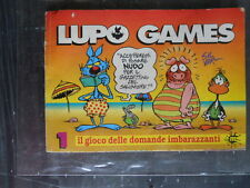 LUPO GAMES n°1 suppl. a LUPO ALBERTO n°97 ed. Macchia nera  [G327]