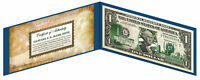 NEW JERSEY State $1 Bill *Genuine Legal Tender* U.S. One-Dollar Currency *Green*