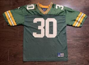 Vintage Adidas Green Bay Packers NFL Football #30 Ahman Green Jersey Mens Medium