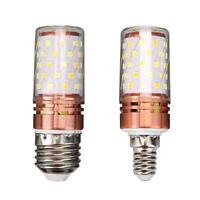 E14/E27 60LED Corn Bulb Light 85-240V 12W 3Mode Constant Current No Flicker Lamp