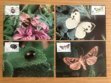 Azores - 1984, Insects Complete - Maxi Cards