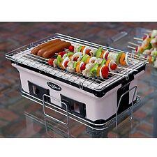 Small BBQ Grill Portable Table Top Ceramic Clay Yakatori Barbecue Camp Picnic