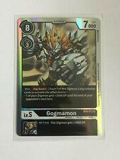 Digimon TCG  BT4-072  GOGMAMON  SUPER  RARE