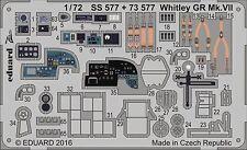 Eduard Zoom ss577 1/72 Armstrong-Whitworth Whitley Mk. VII Airfix