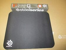 "STEEL SERIES QCK PRO GAMING MOUSE PAD 12"" x 10"" NIB 12.6"" 10.6"" BLACK SHIPS FREE"