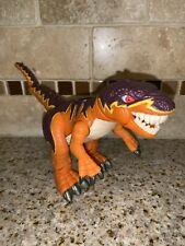 Dinosaur Imaginext Slasher Allosaurus Fisher Price Mattel Orange #1180
