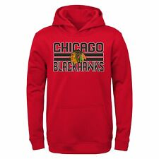 Outerstuff NHL Youth (4-20) Chicago Blackhawks Classic Fleece Pullover Hoodie