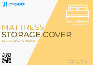 SUPER HEAVY DUTY MATTRESS MOVING COVER STORAGE BAG KING QUEEN SIZE BED PROTECTOR