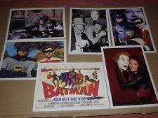 BATMAN-SERIE COMPLETA 6 CARTOLINE FILM DI BATMAN-SERIE INGLESE