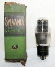1- Vintage Used 6A5G Audio Vacuum Tube ~ Sylvania ~ Made in USA