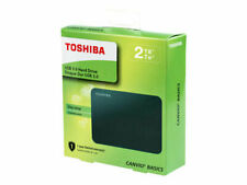 "Toshiba Canvio Basics 2TB 2,5"" Disco Rigido Esterno - Nero (HDTB420EK3AA)"