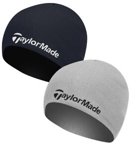 TAYLORMADE BEANIE KNITTED REVERSIBLE MENS WINTER CAP - NEW - PICK A COLOR