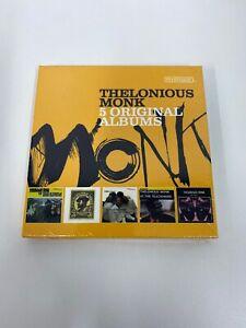 Thelonious Monk - 5 Original Albums - CD Box Set 5 discs 2016 - New & Sealed