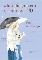 What Did You Eat Yesterday ? Volume 10 by Yoshinaga, Fumi (Paperback book, 2016)