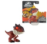 "Jurassic World Snap Squad CARNOTAURUS Action Figure 3""/ 7.5cm Mattel Brand New"
