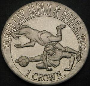 GIBRALTAR 1 Crown 2002 - FIFA World Cup 2002 - aUNC - 2136 ¤