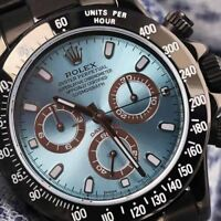 Rolex Oyster Perpetual Cosmograph Daytona Black PVD/DLC Coated SS Watch 116520