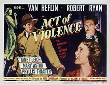 Act of Violence - 1948 - Van Heflin Fred Zinnemann - Vintage b/w Film Noir DVD