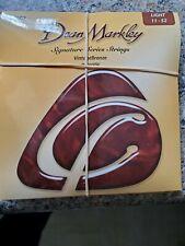 2002 Dean Markley Signature Series Acoustic Guitar Strings Vintage Set of 2 ea.