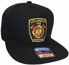 b7d57238b19ff los angeles fire department Hat Color Black Snapback Adjustable New Hat