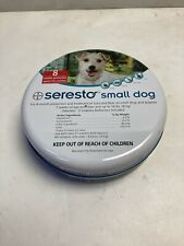 Bayer Seresto Flea and Tick Collar Tick Prevention for Small Dogs(Under 18 lbs)