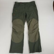 Fjallraven Womens Size 44 G 1000 Outdoor Hinking Pants Green