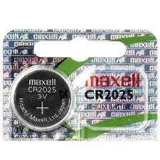 Piles boutons lithium CR2032/2025/2016 3V de marque MAXELL, jouets, calculettes