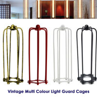 Modern Industrial Style Caged Ceiling Pendant Light Shade Easy Fit Cage Light