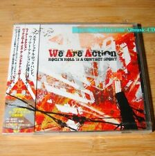 We Are Action - Rock N Roll Is A Contact Sport JAPAN CD+2Bonus NEW Sealed *25-4