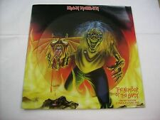 "IRON MAIDEN - THE NUMBER OF THE BEAST - 12"" PICTURE DISC NEW UNPLAYED 2005"