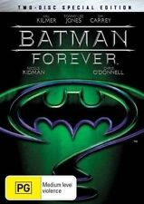 Batman Forever (DVD, 2005, 2-Disc Set) VGC Pre-owned (D91)