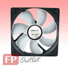 GELID SILENT 12 cm 120mm Low Noise Silence Rubber Mount PC Case Fan FN-SX12-10