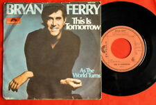 "BRYAN FERRY THIS IS TOMORROW ROXY MUSIC 1977 EXYU 7"" PS"