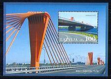 Latvia 2009 Transport/Bridges/Architecture m/s (n29968)