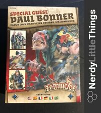 Zombicide Black Plague - Kickstarter - Paul Bonner Special Guest Box