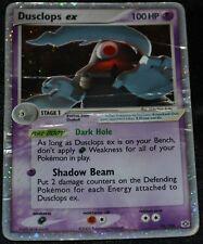 Holo Foil Dusclops ex # 94/106 EX Emerald Set Pokemon Trading Cards Rares DA