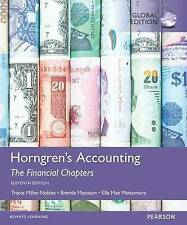 Horngren's Accounting, the Financial Chapters 11E by Brenda L. Mattison