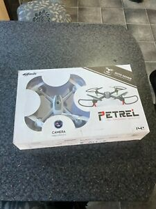 PETREL QUADCOPTER DRONE WITH CAMERA FOR PHOTOS AND VIDEO