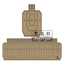 "20pcs 10"" x 16.5"" Professional Shooting Targets Practice Training Cardboard IPSC"