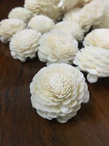 50 50 Jasmine 1.96 Inches Diffuser Flowers Sola Balsa Wood Wholesale Bouquet