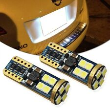 2x CAN-bus LED Interior Package Kit For T10 License Plate Lights White Universal