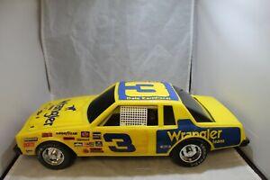 #3 Dale Earnhardt Plastic Wrangler Stock Car 1:12 Scale